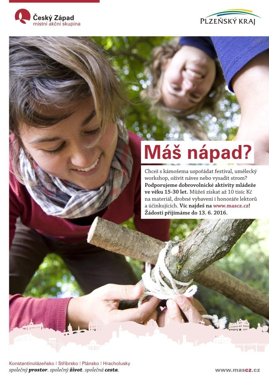 MAS Český Západ podpoří iniciativy mládeže a spolupráci s odborníky